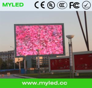 Outdoor Full Color Video LED Display/Advertising Screen (P10, P16) pictures & photos