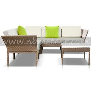 Kd Patio Sofa Set Assembly Garden Sofa Set Outdoor Wicker Sofa Set pictures & photos