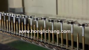 Automatic Vacuum Metallizing UV Coating Line for Perfume Bottle Caps pictures & photos