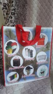 Manufacture Packing Tote Reusable Laminated Non Woven Shopping Bag pictures & photos