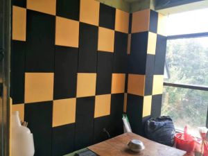 Polyester Fiber Acoustic Panel High Density Sound Absorbing Wall pictures & photos