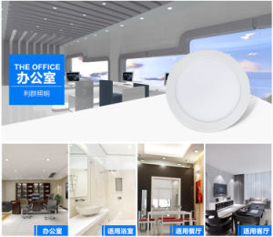 LED Spot Light/Living Room/Meeting Room/Show Room/Dining Room/Bedroom Light 12W LED Panel Light pictures & photos