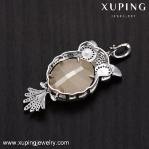 32906 Fashion Noble Owl Design Pendant with Crystals From Swarovski Jewelry pictures & photos