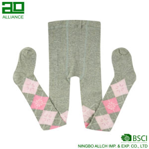 Argyle design Cotton Kids Tights pictures & photos