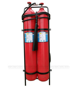 50kg Wheeled Carbon Steel CO2 Fire Extinguisher pictures & photos