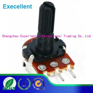 Metal Shaft Potentiometer with 16mm Size and 0.1W Rated Power pictures & photos