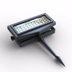 Beautiful LED Solar Garden Light Color Change RGB Wall Washer Flood Light for Decorating pictures & photos