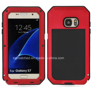 China Waterproof Mobile Phone Back Cover Hybrid Material Case for Samsung Galaxy S7 pictures & photos