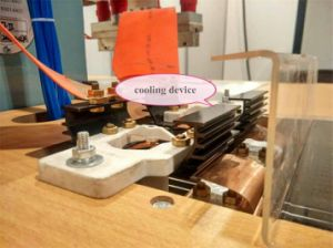 Plastic Welding Machine for PVC Welding Sealing and Embossing (5KW gas holder) pictures & photos
