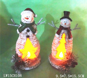 Christmas Candle Holder Home Decoration pictures & photos