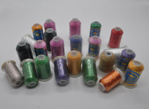 100% Rayon Embroidery Thread 40W 1000yds pictures & photos