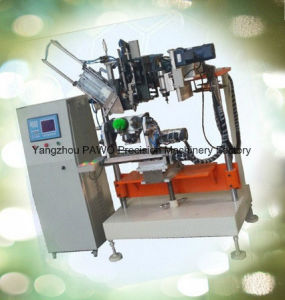 CNC Automatic High Speed 4 Axis Toilet Brush Drilling and Tufting Machine pictures & photos