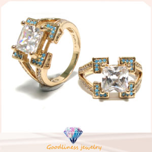 2017 High Quality 925 Silver Color Stone Ring Fashion Jewelry (R10637) pictures & photos