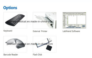 Hospital Clinic Lab Touch Screen Microplate Reader/Elisa Reader (WHY101) pictures & photos