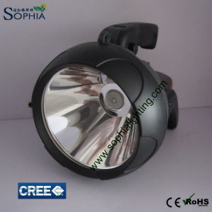 10W Rechargeable LED Flashlight, LED Searchlight with CREE LED pictures & photos