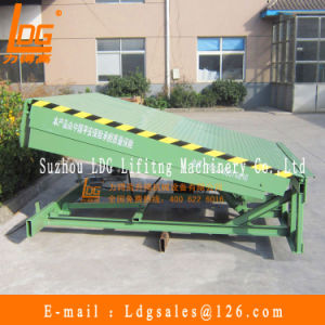 6tons Stationary Hydraulic Dock Leveler (DCQ6-0.6) pictures & photos