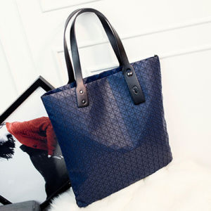 Dark Blue Silica Gel Designer Handbag (A0116-2) pictures & photos