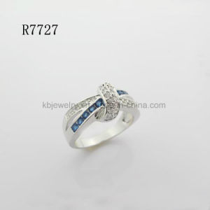 Silver Jewelry Gemstone Finger Ring (R7727) pictures & photos