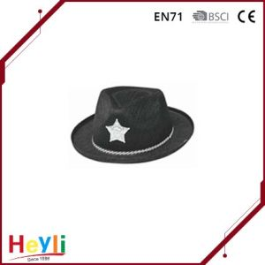 Black Fashion Mexican Cowboy Hat pictures & photos