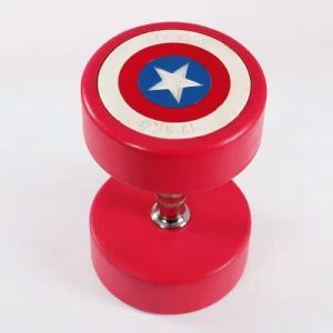 2017 Captain America PU Dumbbell (SA01-A) pictures & photos