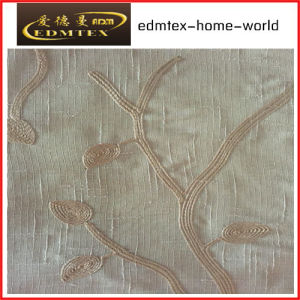 Fashion Embroidered Organza Curtain Fabric EDM2038