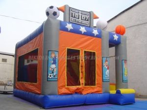 Inflatable Combo Castle, Sports Theme Moonwalks (B3018) pictures & photos