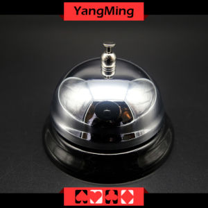 Casino Dedicated Stainless Steel Call Bell for Casino Poker Table Games Ym-CB01 pictures & photos