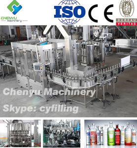 Automatic Sparking Wine Red Wine Filling Equipment Bottling Machine pictures & photos