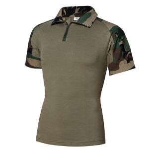 5 Colors Outdoor Shirts for Men Outdoor Military T-Shirt Camo pictures & photos
