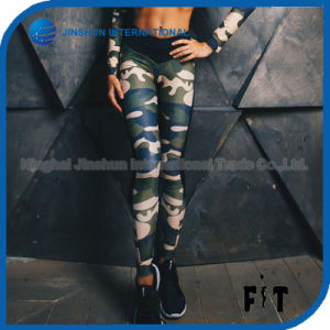 Women Fashion Camouflage Leggings Fitness Slim High Waist Legging Workout Sporting Skinny Leggin Pants pictures & photos