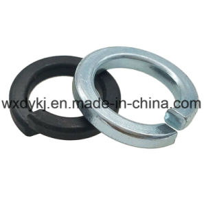 DIN127 Zinc Plated Carbon Steel Spring Lock Washer pictures & photos