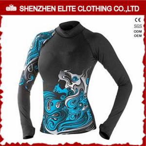 Hot Sale Sublimation Dry Fit Upf 50+ Ladies Rash Guard Manufacturer (ELTRGJ-277) pictures & photos
