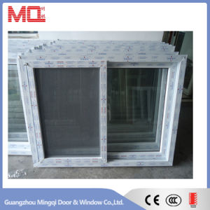 UPVC Sliding Window with Mosquito Net pictures & photos