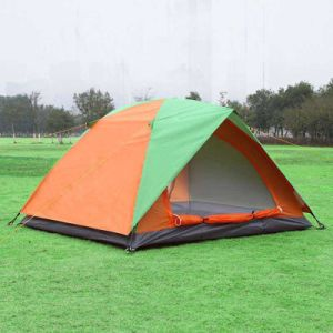 Camping Tent for 2-3 Person with Half Cover pictures & photos