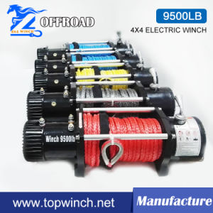 Waterproof SUV 4X4 12V/24VDC Electric Winch Truck Winch (9500lbs-1) pictures & photos