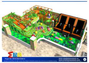 Dwarf Themed Indoor Playground with Big Slide