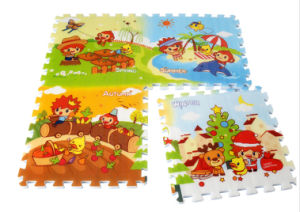 Baby Play Mat Stitching Style Lock Safety Material Practice Crawling for Baby 0860d pictures & photos