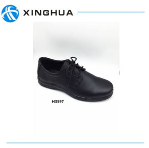 Male Shoes PU Leather PU Sole Best Price pictures & photos