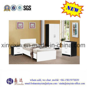 Wooden Queensize Bed Dubai Hotel Furniture (SH039#) pictures & photos