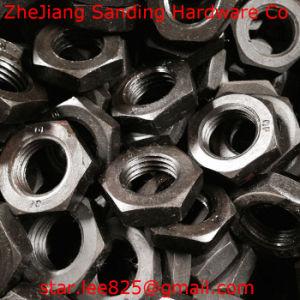 Carbon Steel Class 8 Black Oxide Hex Jam Nut pictures & photos