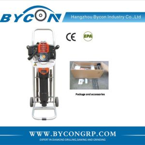 DGH-49 Petrol engine concrete breaker manual gasoline stone breaking machine pictures & photos