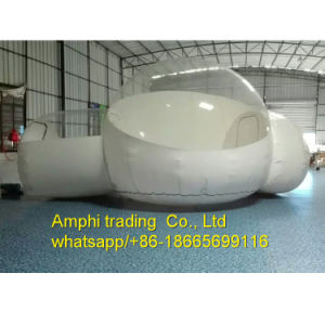 Outdoor Camping Clear Inflatable Bubble Tent with Tunnel/Movable Inflatable Hotel Romantic pictures & photos