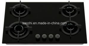 Sabaf Five Burner Tempered Glass Gas Hob -Gna587