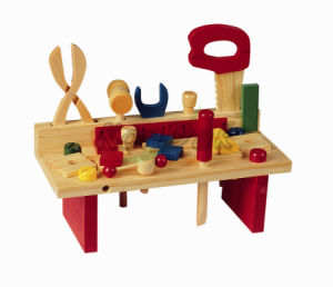 Children Toy Wooden Tool Table pictures & photos