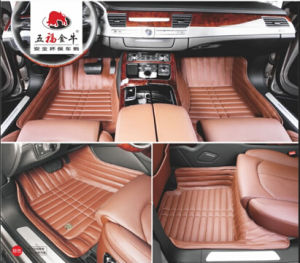Car Carpet 3D Embroidery Synthetic Leather XPE Mat pictures & photos