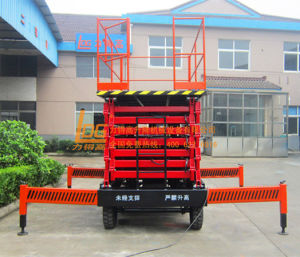 300kg 16m Hydraylic Moving Work Platform (SJY0.3-16) pictures & photos