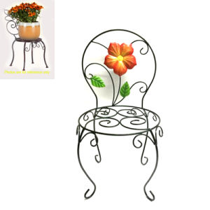 Impressive Rusty Chair Metal Garden Decoration Flowerpot Stand pictures & photos