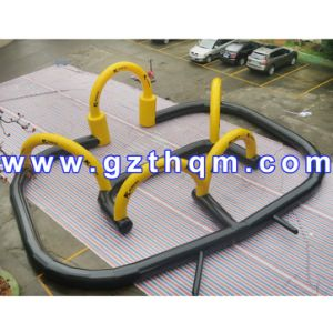 Portable Inflatable Soccer Bubble Bumper Ball Field/Inflatable Football Sport Game Pitch for Rentals pictures & photos