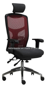 Ergonomic Mesh Chair High Back Manager Office Mesh Chair with Headrest (LDG -831B) pictures & photos