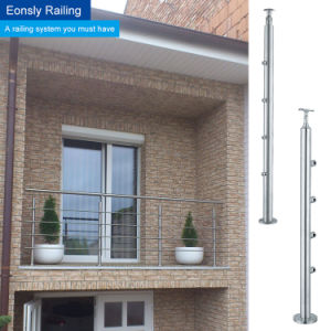Indoor and Outdoor Baclony Railing for Stainless Steel Handrial pictures & photos